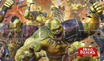 Hero Realms Playmat: Rampage