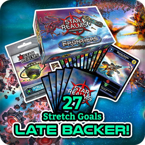 Star Realms Frontiers Late Backer