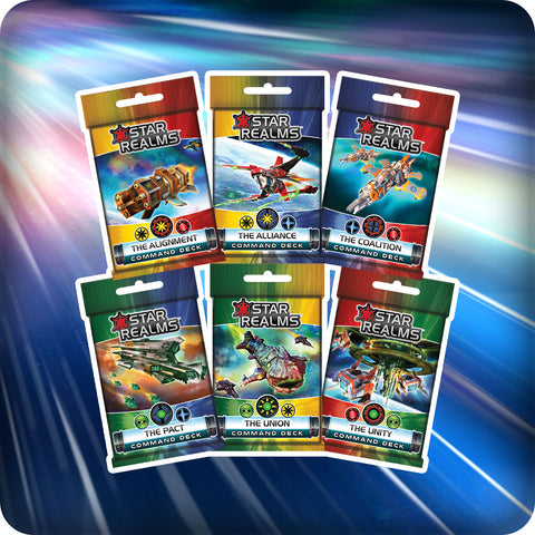 Star Realms Command Decks Pre-Order