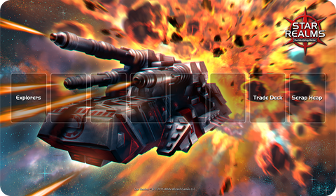 Star Realms Playmat: Battle Mech