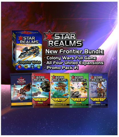 Star Realms New Frontier Collection