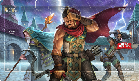 Hero Realms Playmat: Relentless Storm