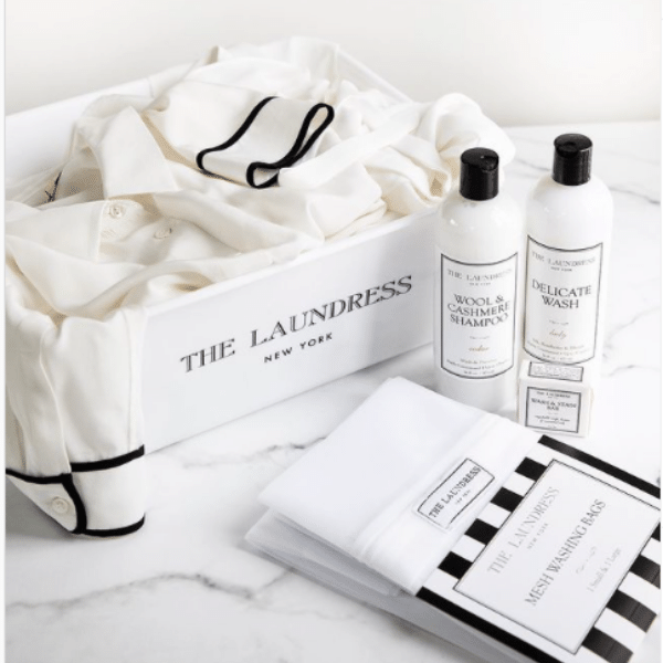 Launder your delicates and cashmere at home with luxury detergent The Laundress NY collection by Flow by Nicole boutique Ancaster Hamilton Ontario