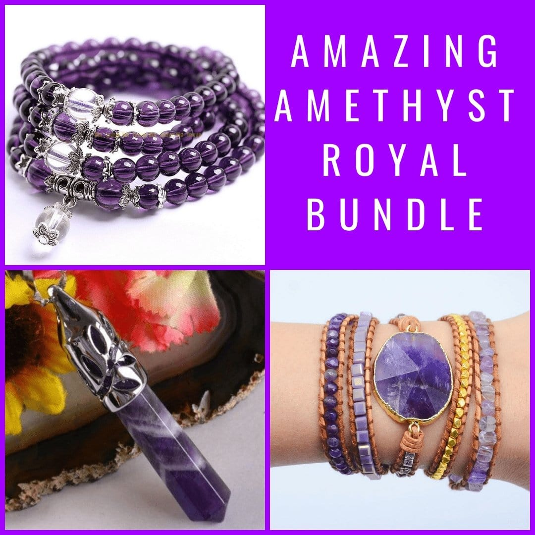 Amazing Amethyst Royal Bundle - Prana Heart: Everyday Mindfulness
