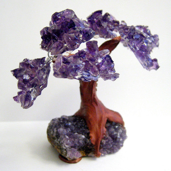 Amethyst Crystal Cluster Tree of Life