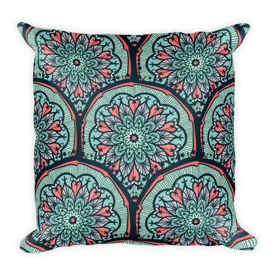 Aventurine Dream Mosaic Pillow - Prana Heart: Everyday Mindfulness