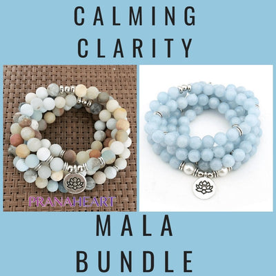 Calming Clarity Mala Bundle - Prana Heart: Everyday Mindfulness