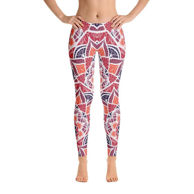 Fire Lotus Mandala Leggings - Prana Heart: Everyday Mindfulness