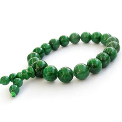 Green Jade Buddhist Prayer Bracelet