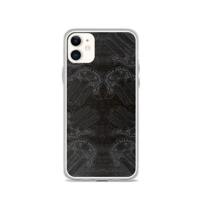 Black Onyx Hamsa iPhone Case