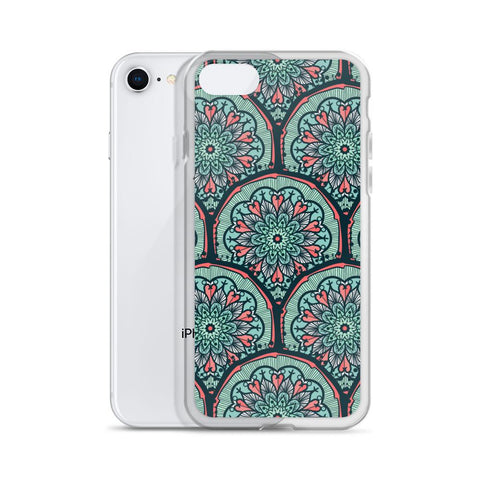 Aventurine Dream Mosaic iPhone Case