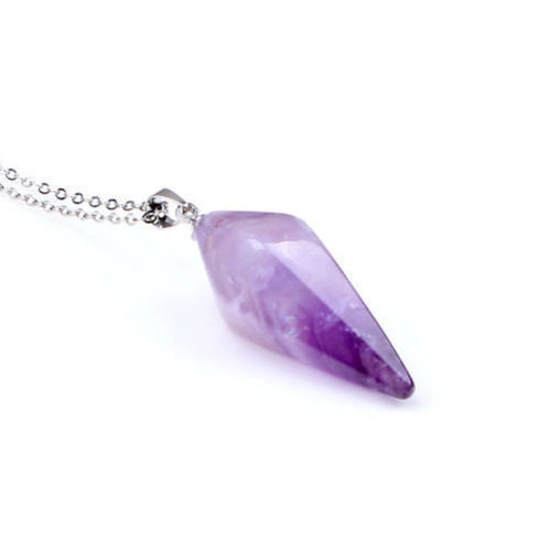 Natural Gemstone Healing Amulet