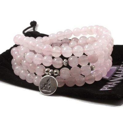 Rose Quartz Love Mala Bundle - Prana Heart: Everyday Mindfulness