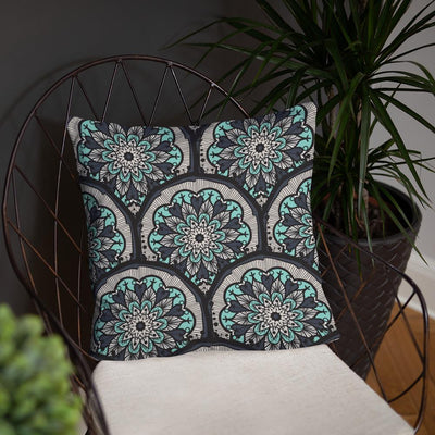 Seamless Mosaic Pillow - Prana Heart: Everyday Mindfulness