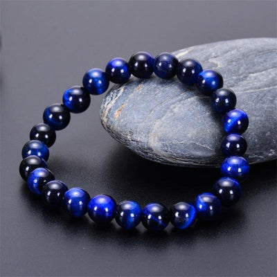 True Blue Tiger's Eye Bracelet - Prana Heart: Everyday Mindfulness