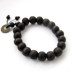 Buddhist Wood Prayer Mala