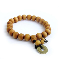 Wood Beads Buddhist Prayer Mala