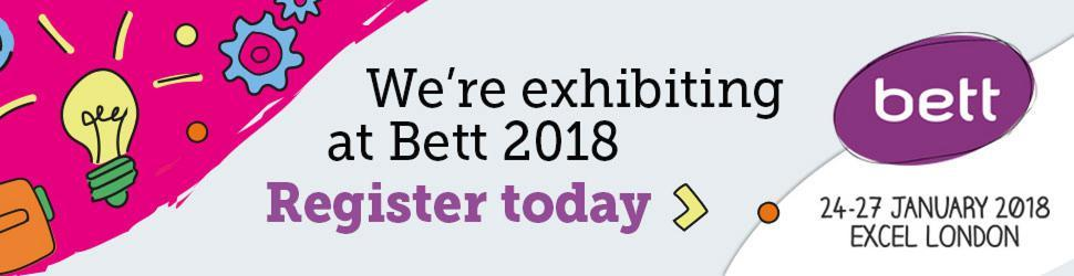 We're exhibiting at Bett 2018