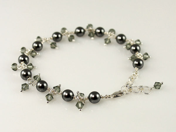Custom Chain Link Bracelet with Dangles - Steven James Jewelry