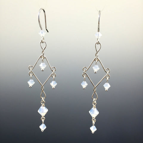 Custom Fancy Chandelier Earrings - Steven James Jewelry