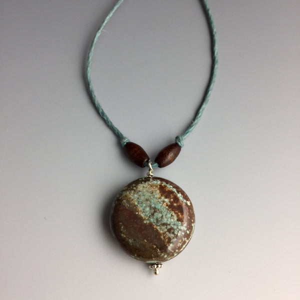 Paisley Jasper Hemp Necklace - Steven James Jewelry