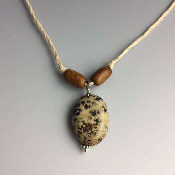 Landscape Jasper Hemp Necklace - Steven James Jewelry