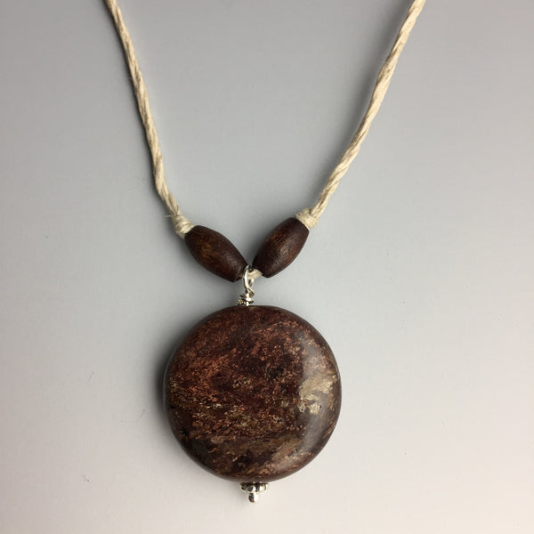 Bronzite Hemp Necklace - Steven James Jewelry