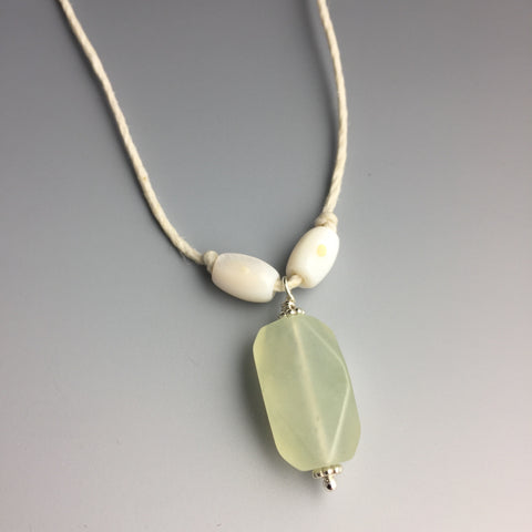 Jade Hemp Necklace - Steven James Jewelry