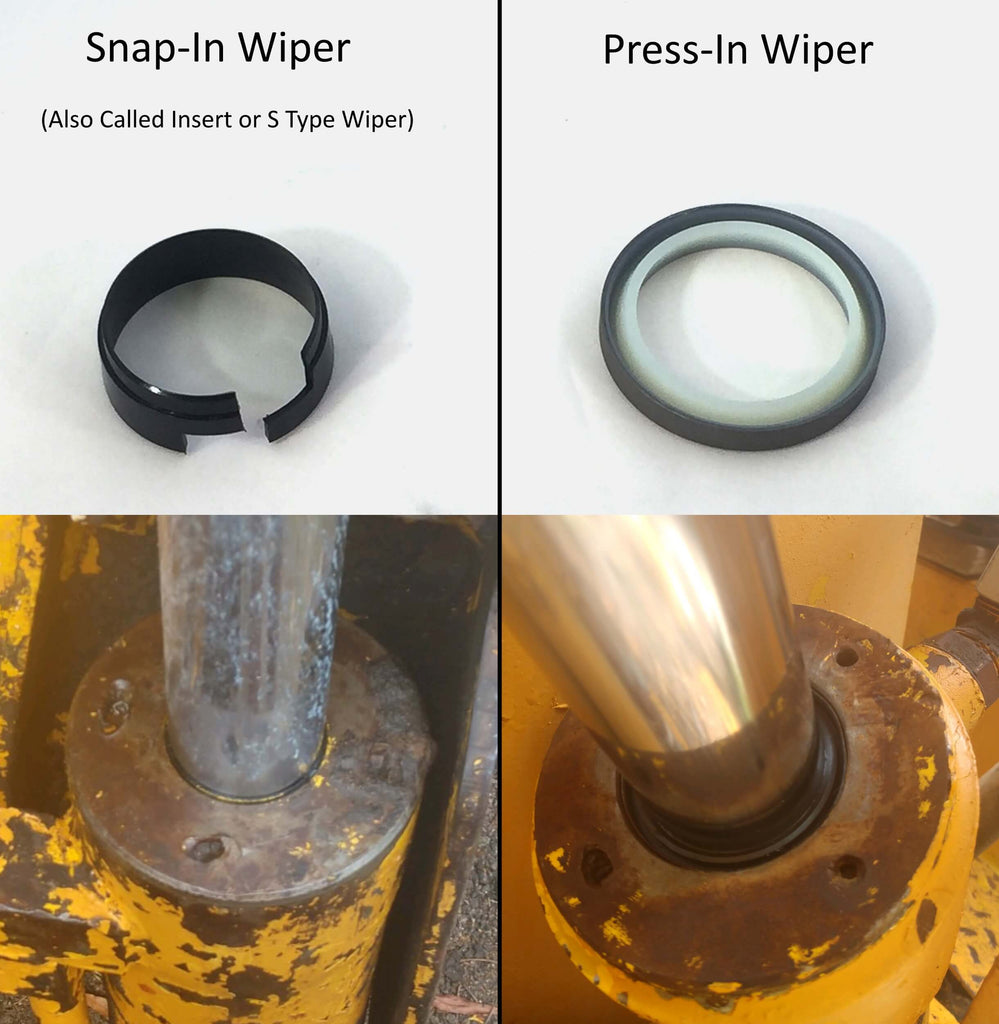 Case Cylinder Wipers: Snap-In vs. Press-In