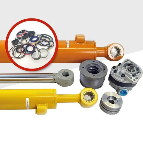 Hydraulic Cylinders, Seal Kits, Cylinder Parts, & Pumps