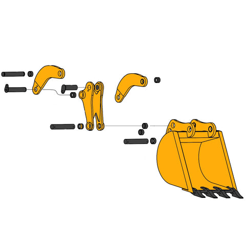 Backhoe Bucket Parts