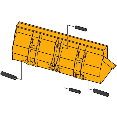 Loader Bucket Pins