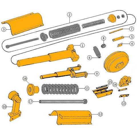 John Deere 350 Dozer Parts | HW Part Store