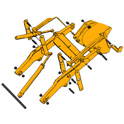 Case 580E Backhoe Parts | HW Part Store