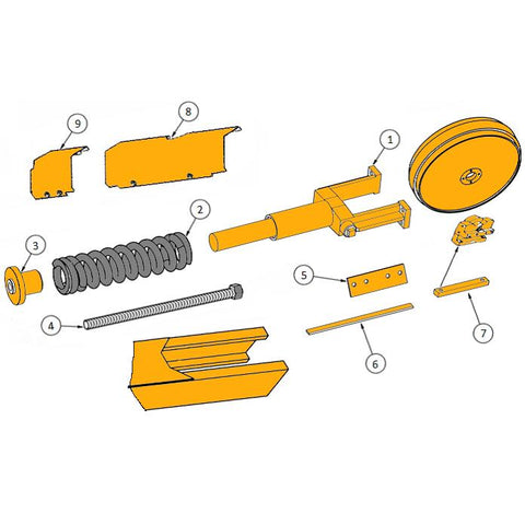 John Deere 650H Dozer Parts | HW Part Store