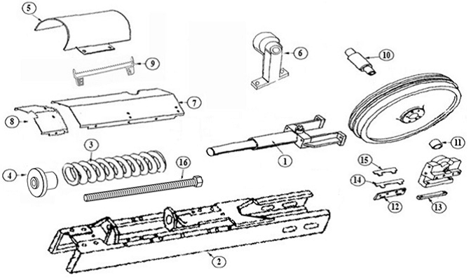 john deere parts diagrams for 450g lgp
