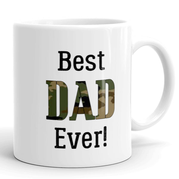 Best Dad Ever!, Army Father's Day Coffee Mug