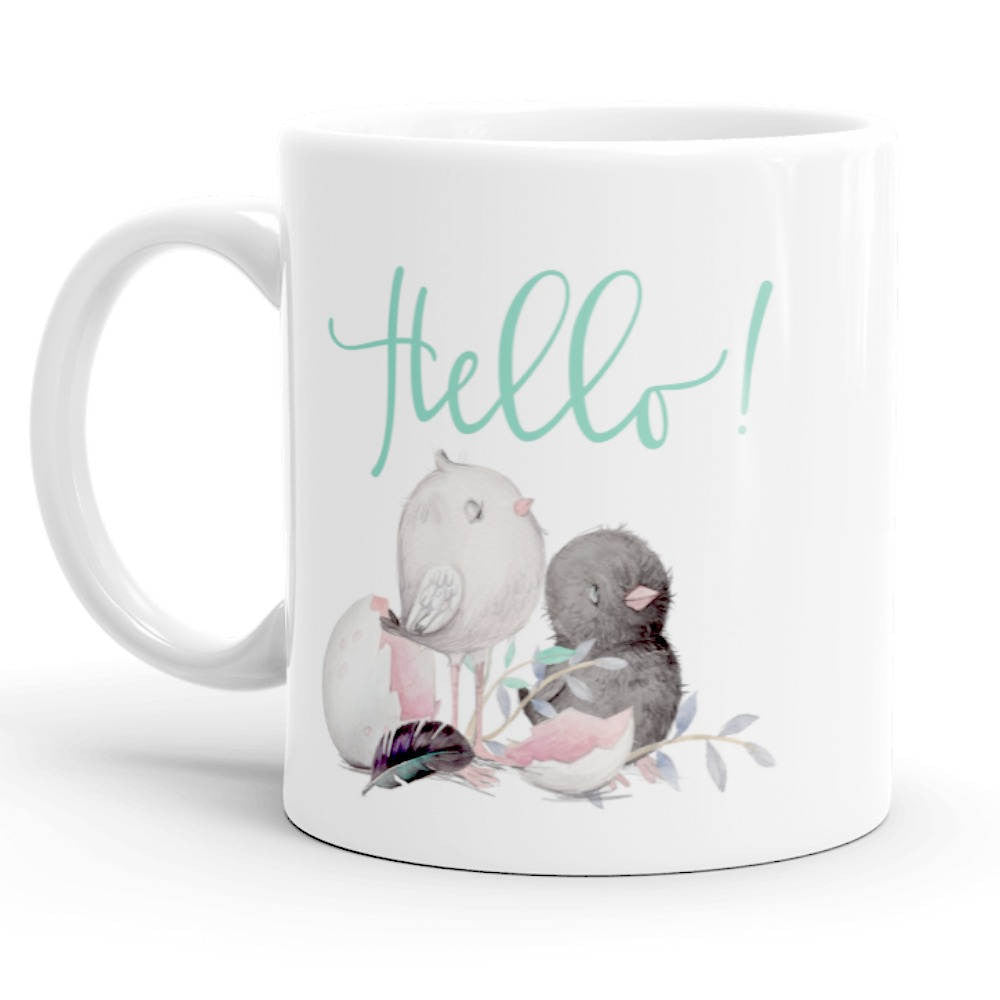 Coffee Mug, Hello!
