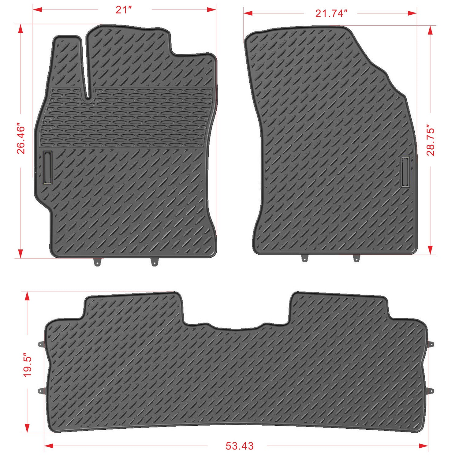 weather tesla items introductory ev rear floor mats all pricing model products