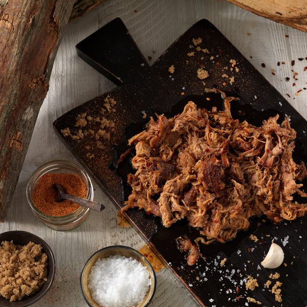 ROWDYDOW bbQ 'Smoked Pulled Pork & Chopped Beef Brisket' bbQ Pack