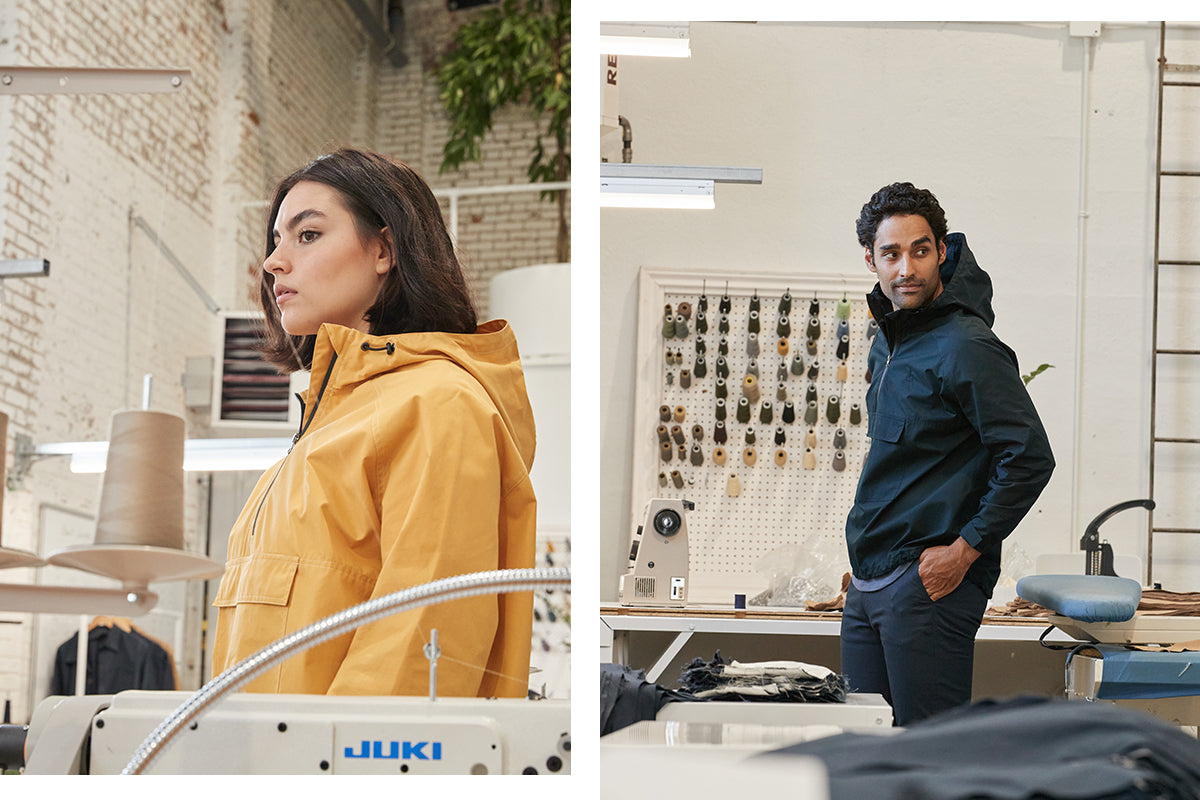 ecologyst anorak in factory