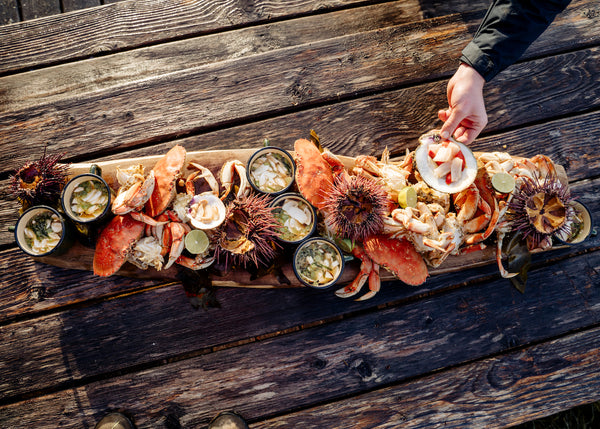Foragers Feast Top Chef Canada Paul Moran Tofino for ecologyst film series