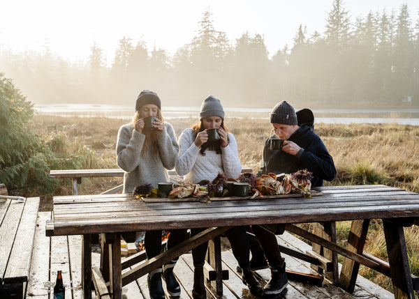 Tofino food feast with Top Chef Canada winner Paul Moran ecologyst
