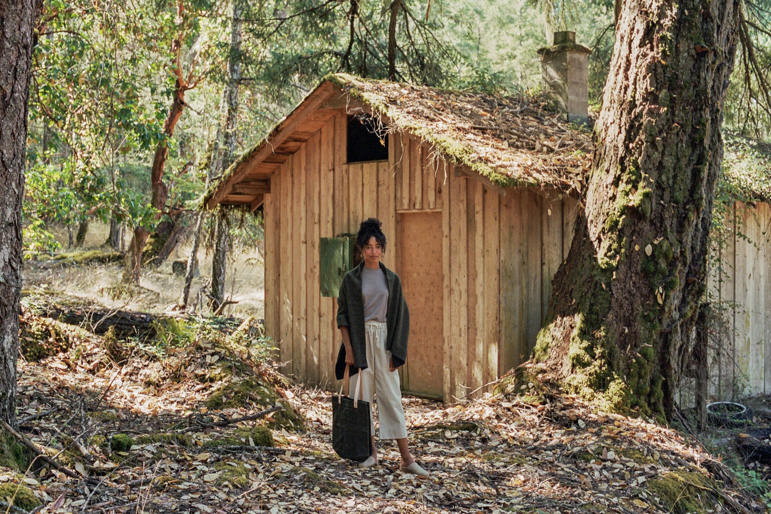 ecologyst all-natural clothing wool and culottes