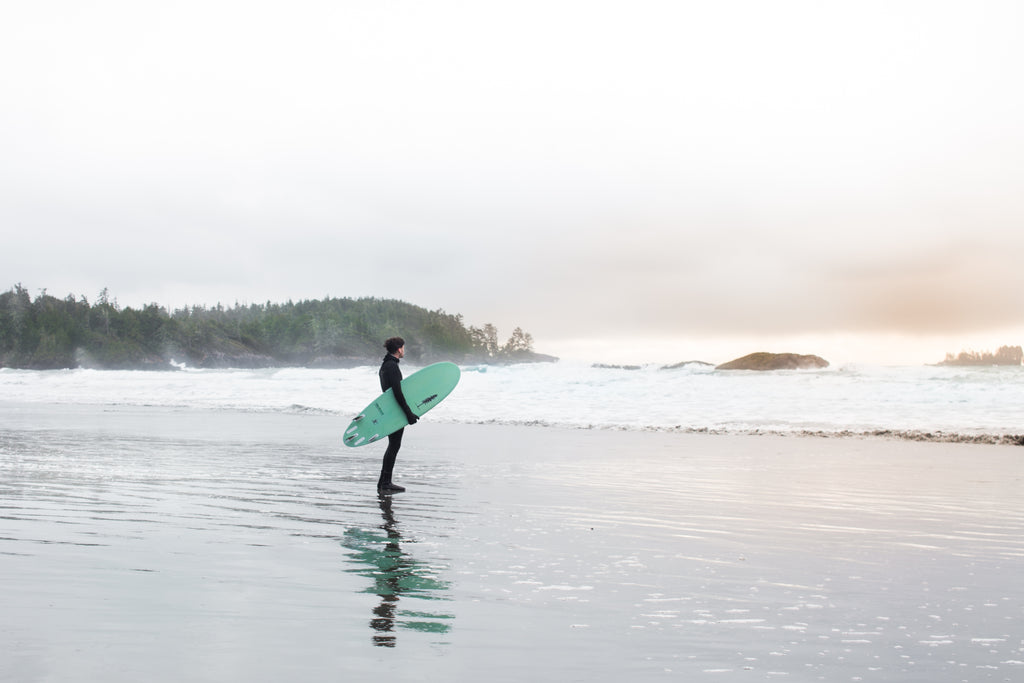 Sitka Ecoboards / Sustainable Surf Project / Mackenzie Beach Tofino
