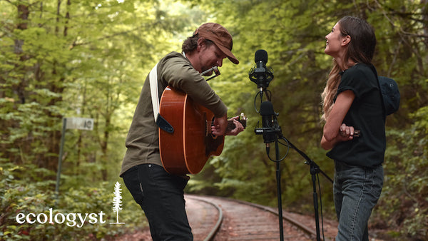 ocie elliott canadian indie-folk band from vancouver island play ecologyst live session