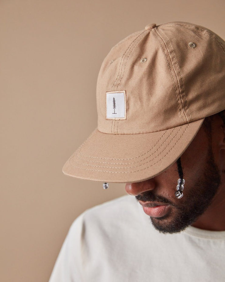 The ecologyst Cap in Hazelnut Close Up