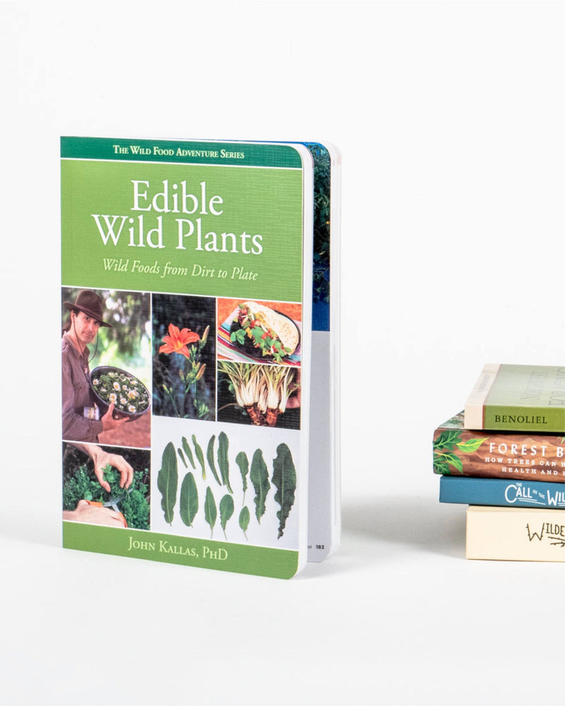 Sitka Edible Wild Plants Author Dr. John Kallas - Hero