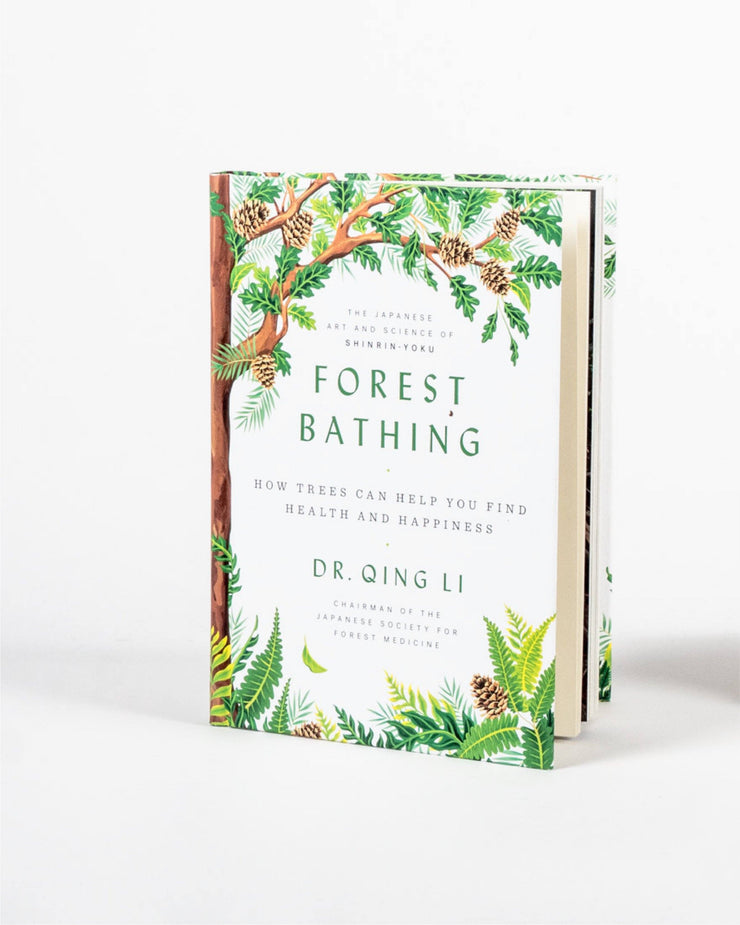 Sitka Forest Bathing How Trees Can Help You Find Health And Happiness Author Dr. Qing Li - Hero