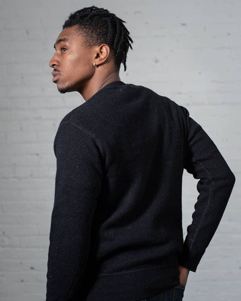 Stanfield's Crew Black Back